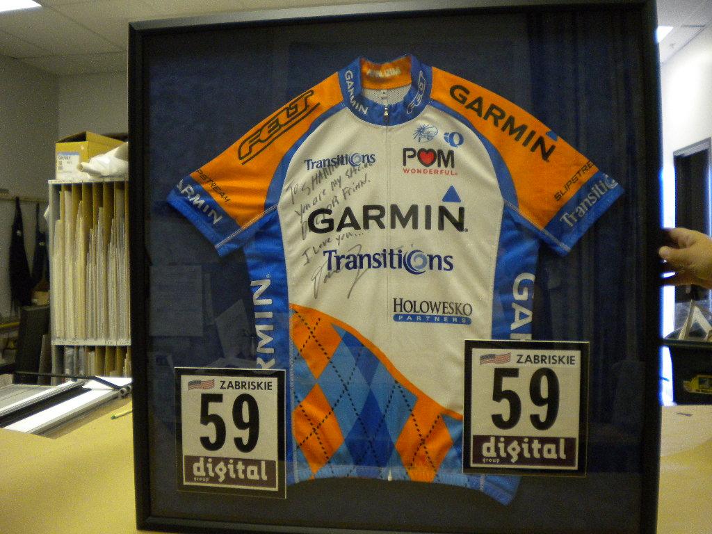 bike team jersey